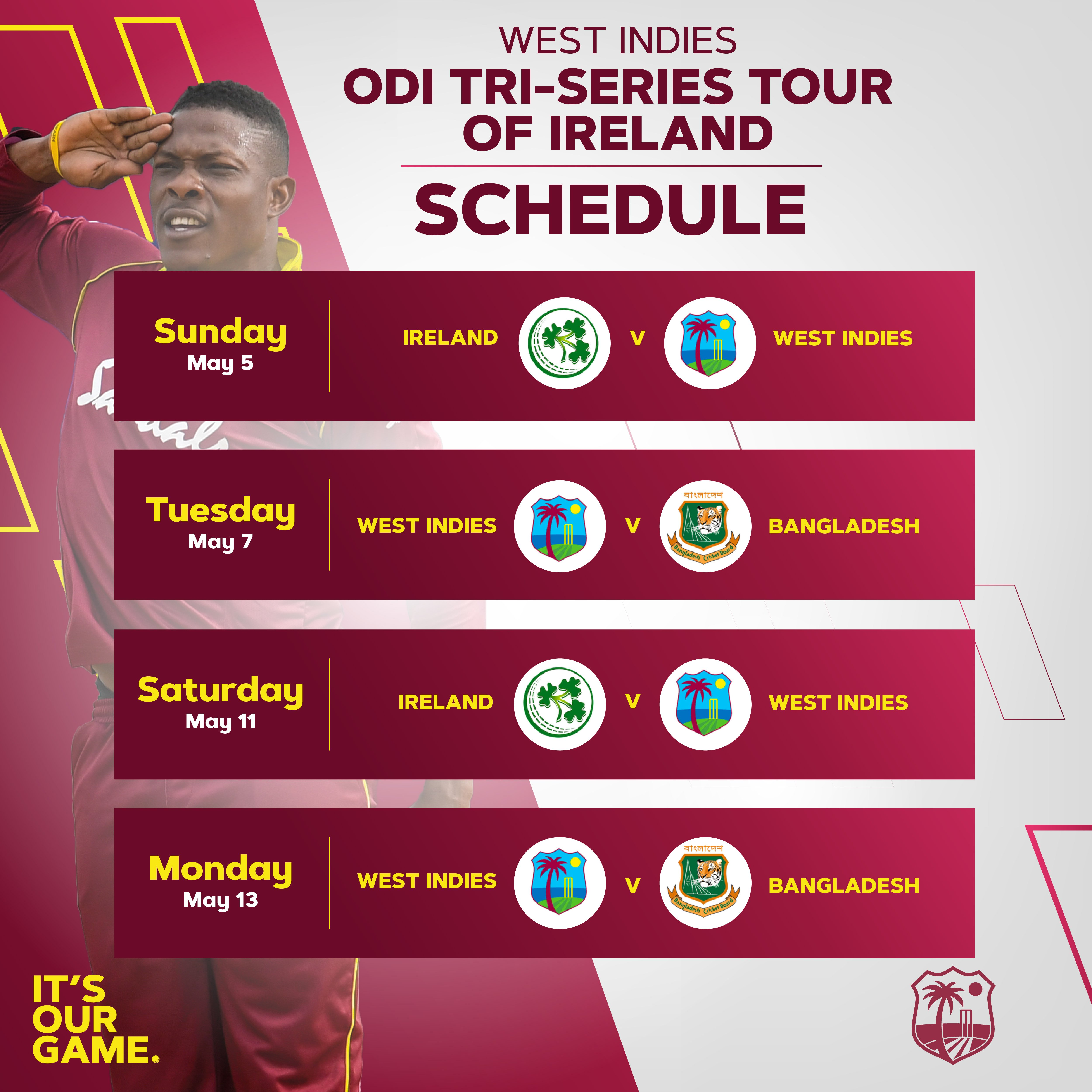 Ireland tri series schedule.jpg