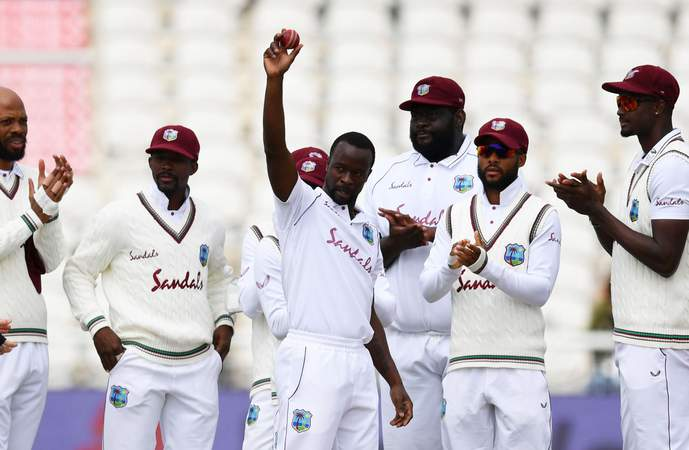 Kemar Roach - 200th Test Wicket  - England 3rd Test.jpg