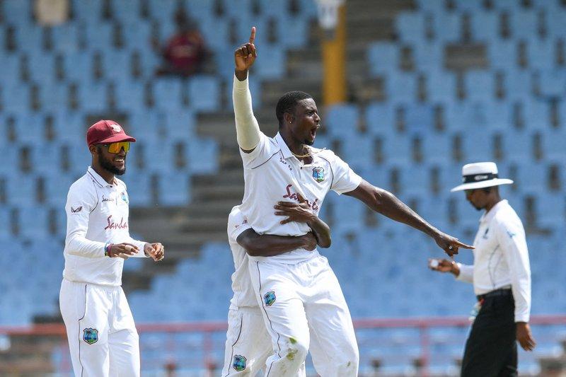 Jason Holder - 2nd Test v South Africa - Catch.jpg