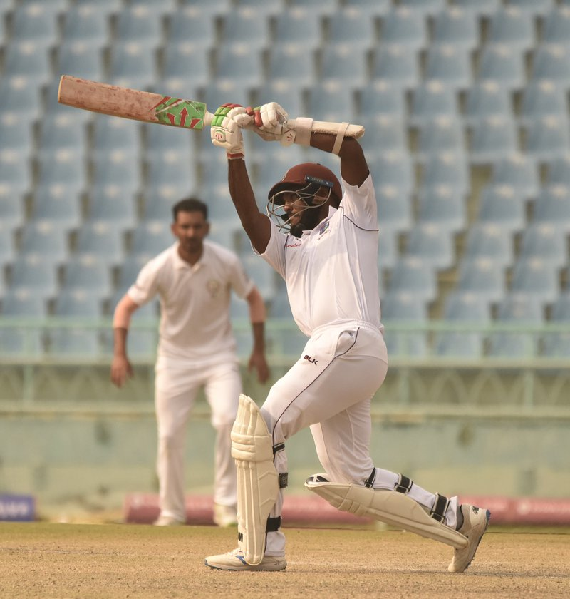 Sunil Ambris in test warm up v AFG.JPG