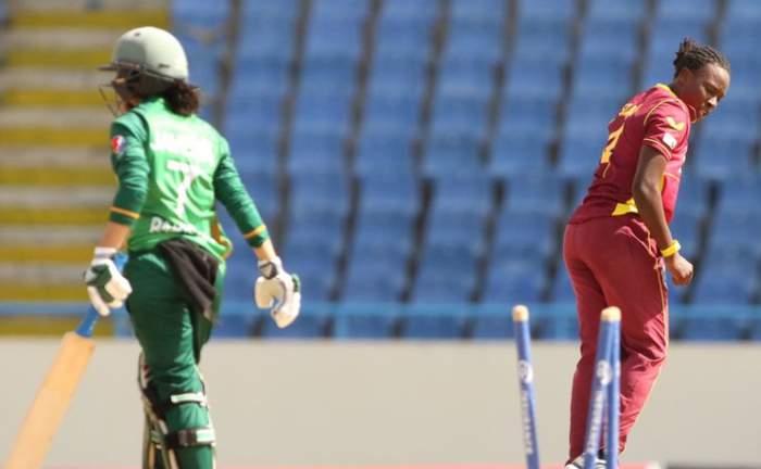 Shakira Selman - 4th ODI v Pakistan Women.jpg