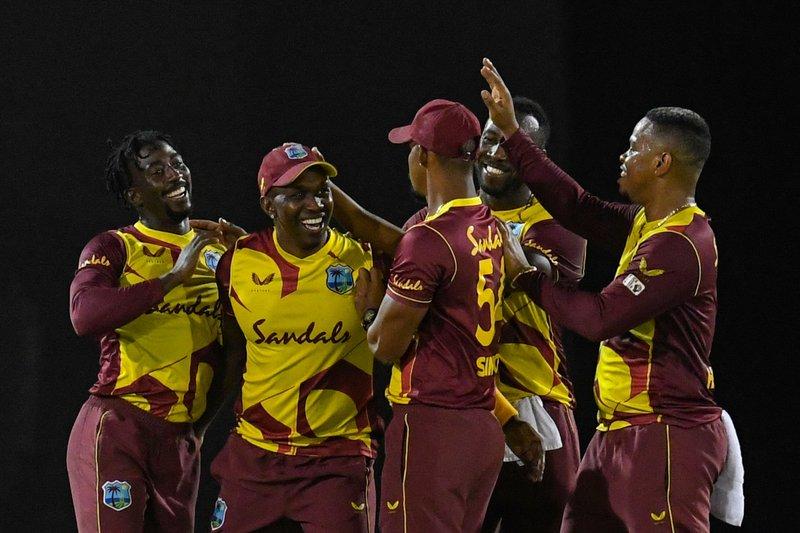 West Indies 1st T20I v Australis
