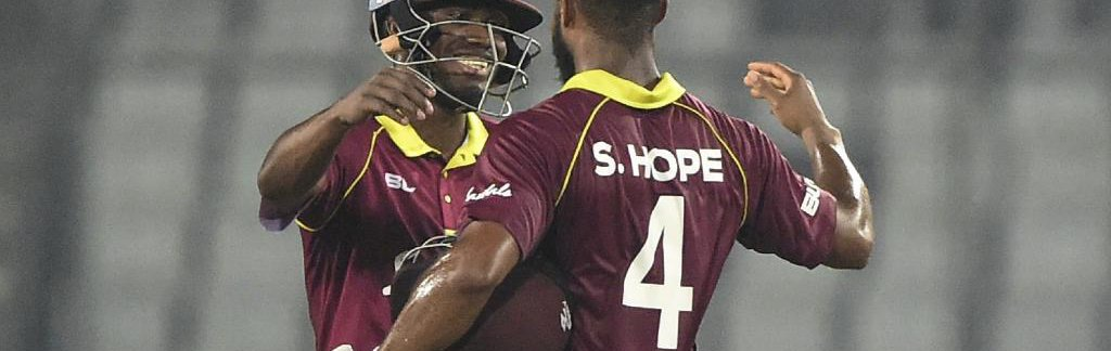 SHAI SPARKS WINDIES HOPE WITH VICTORY