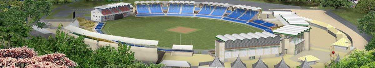 The beautiful Beausejour Stadium at Gros Islet