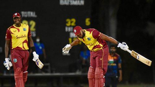 Kieron Pollard vs Sri Lanka 1st T20I