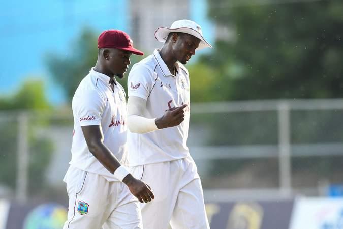 Jayden Seales - Jason Holder - 1st Test v Pakistan