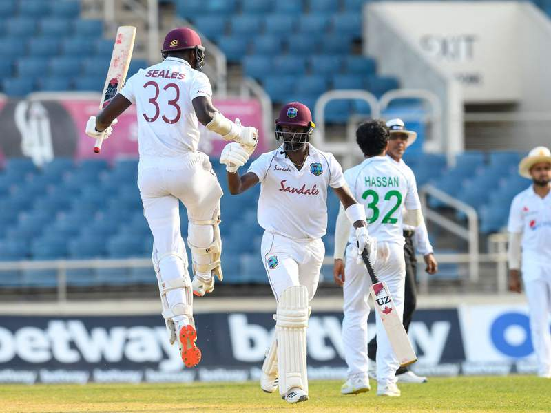 Kemar Roach - Jayden Seales - 1st Test v Pakistan